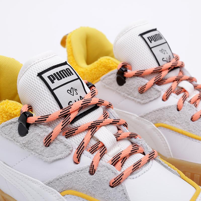 женские белые  кроссовки puma cali sue tsai 36987701 - цена, описание, фото 7