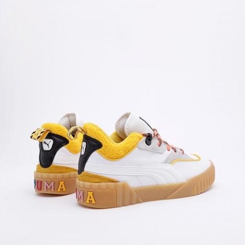 женские белые  кроссовки puma cali sue tsai 36987701 - цена, описание, фото 2