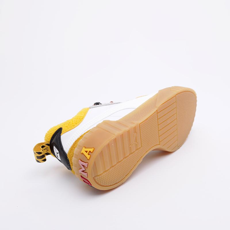 женские белые  кроссовки puma cali sue tsai 36987701 - цена, описание, фото 4