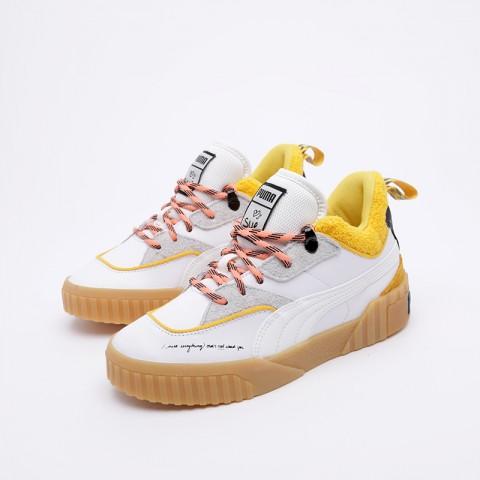 женские белые  кроссовки puma cali sue tsai 36987701 - цена, описание, фото 3