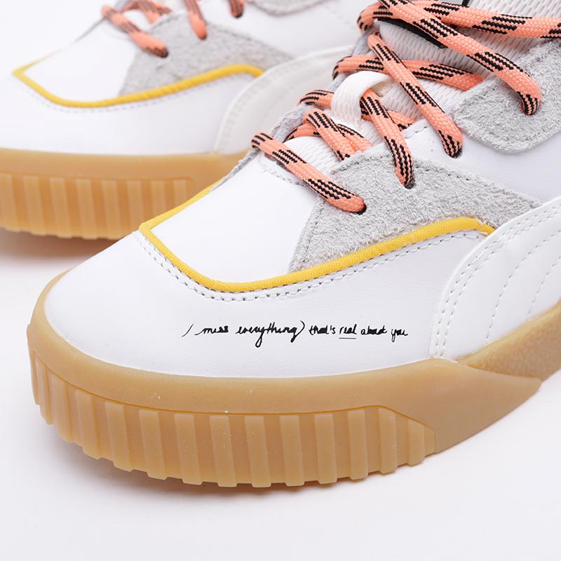 женские белые  кроссовки puma cali sue tsai 36987701 - цена, описание, фото 6