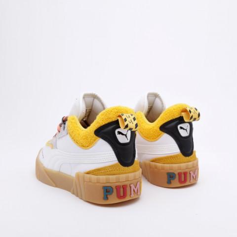 женские белые  кроссовки puma cali sue tsai 36987701 - цена, описание, фото 5