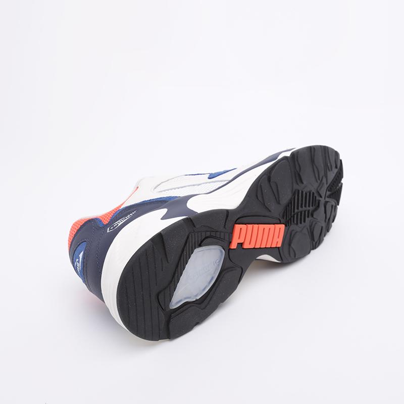 мужские белые  кроссовки puma preval classic 37087107 - цена, описание, фото 4