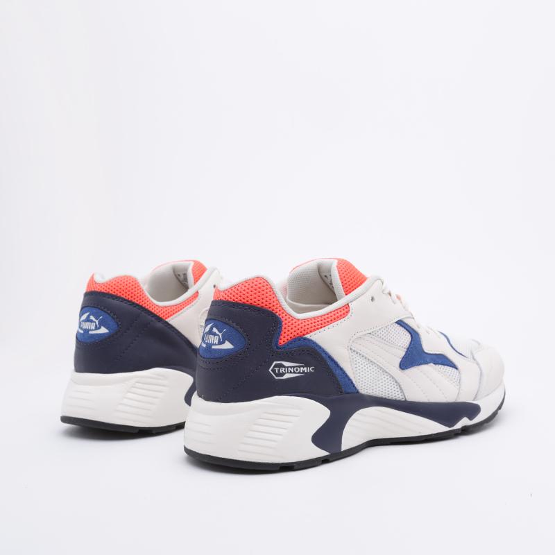 мужские белые  кроссовки puma preval classic 37087107 - цена, описание, фото 3
