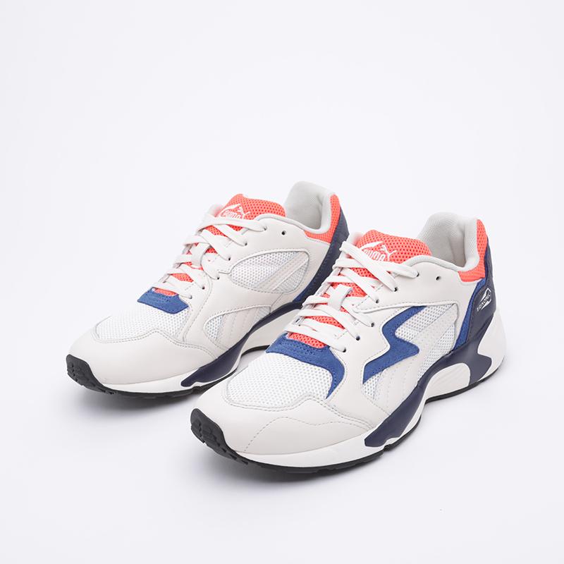 мужские белые  кроссовки puma preval classic 37087107 - цена, описание, фото 2