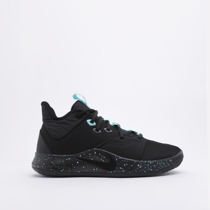мужские чёрные  кроссовки nike pg 3 AO2607-006 - цена, описание, фото 2