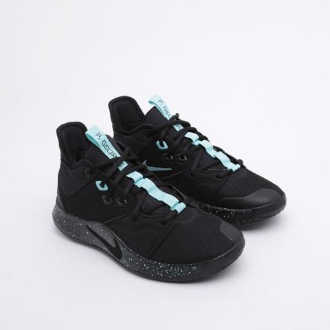 мужские чёрные  кроссовки nike pg 3 AO2607-006 - цена, описание, фото 5