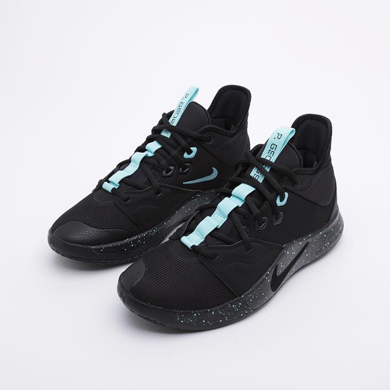 мужские чёрные  кроссовки nike pg 3 AO2607-006 - цена, описание, фото 4
