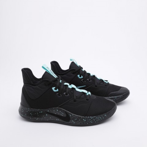 мужские чёрные  кроссовки nike pg 3 AO2607-006 - цена, описание, фото 1