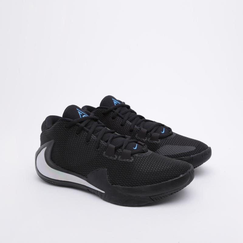 мужские чёрные  кроссовки nike zoom freak 1 BQ5422-004 - цена, описание, фото 1