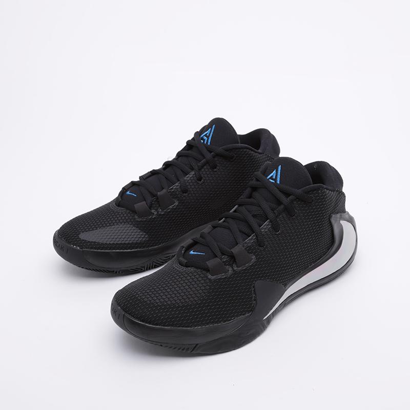 мужские чёрные  кроссовки nike zoom freak 1 BQ5422-004 - цена, описание, фото 4