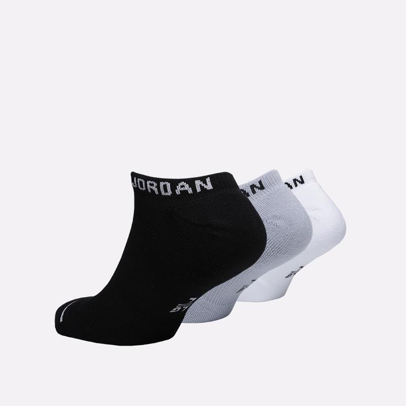 мужские чёрные, серые, белые  носки jordan everyday max no show SX5546-018 - цена, описание, фото 2