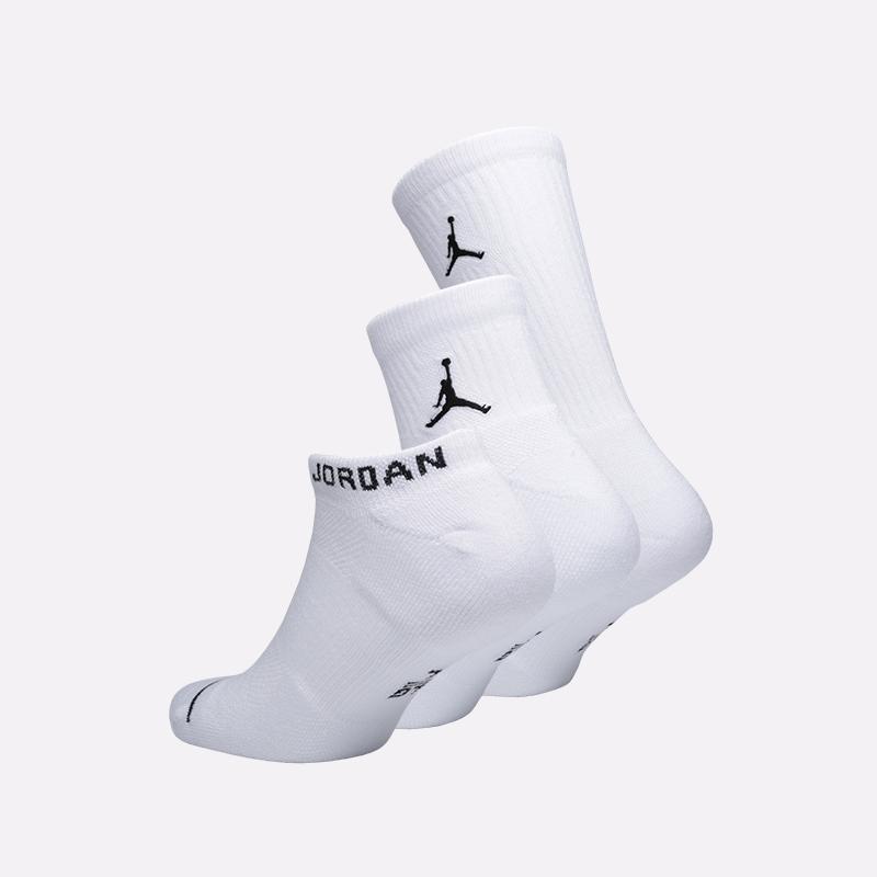 мужские белые  носки jordan everyday max SX6274-100 - цена, описание, фото 2
