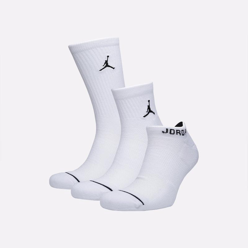 мужские белые  носки jordan everyday max SX6274-100 - цена, описание, фото 1