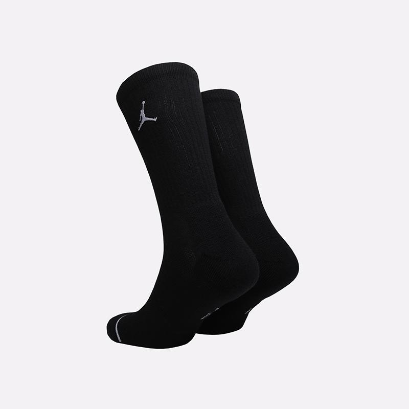 мужские чёрные  носки jordan everyday max crew SX5545-013 - цена, описание, фото 2