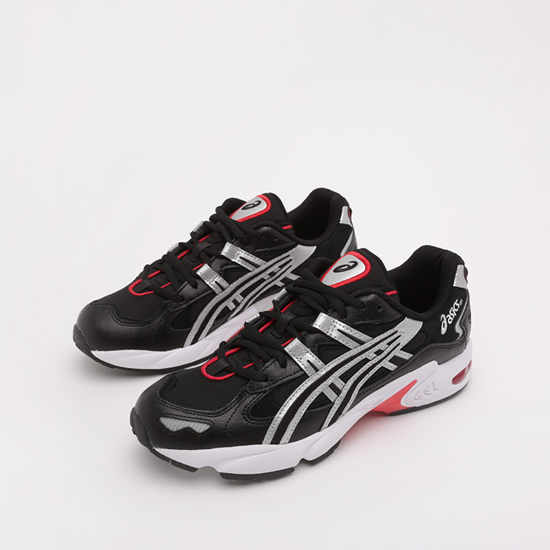 мужские чёрные  кроссовки asics gel-kayano 5 og 1021A163-001 - цена, описание, фото 5