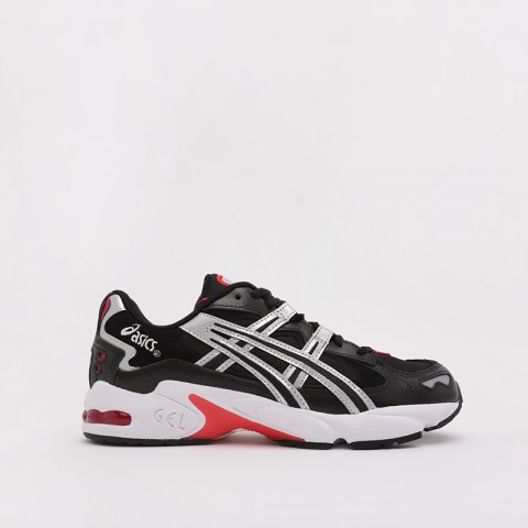 мужские чёрные  кроссовки asics gel-kayano 5 og 1021A163-001 - цена, описание, фото 2
