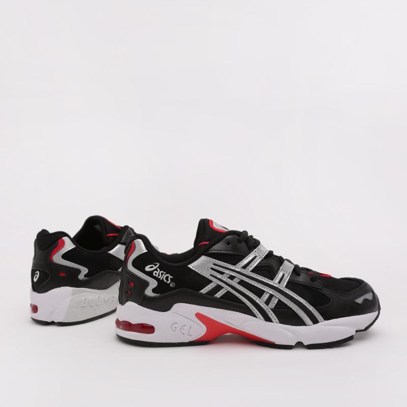 мужские чёрные  кроссовки asics gel-kayano 5 og 1021A163-001 - цена, описание, фото 1
