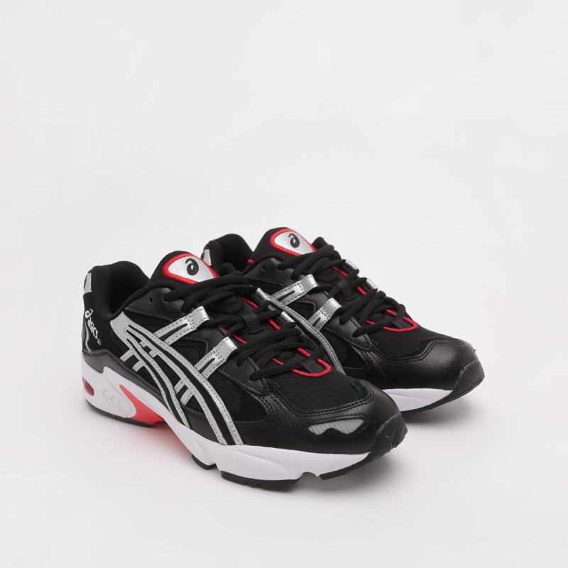 мужские чёрные  кроссовки asics gel-kayano 5 og 1021A163-001 - цена, описание, фото 3
