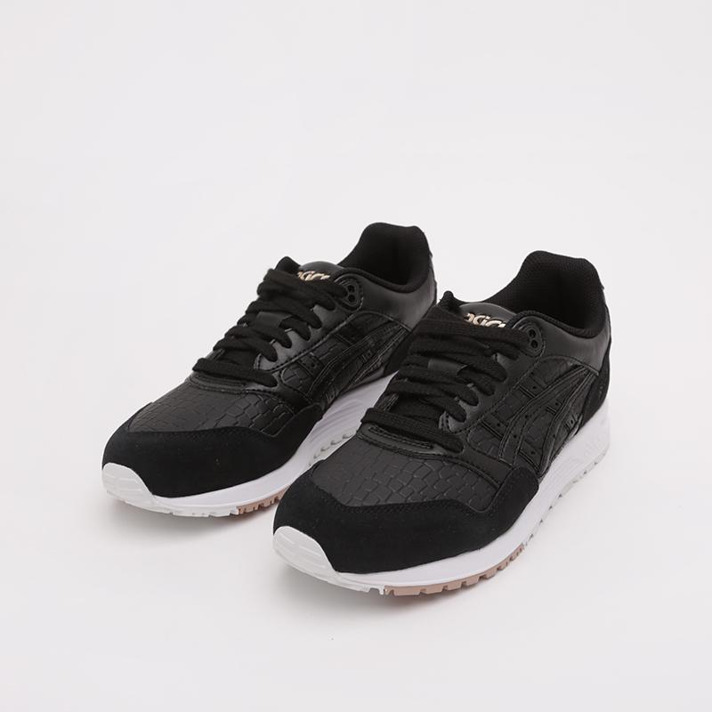 женские чёрные  кроссовки asics gelsaga 1192A107-001 - цена, описание, фото 6