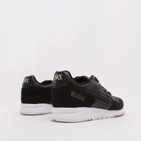 женские чёрные  кроссовки asics gelsaga 1192A107-001 - цена, описание, фото 4