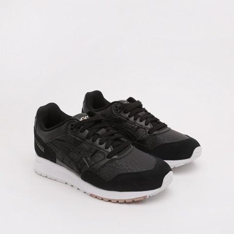 женские чёрные  кроссовки asics gelsaga 1192A107-001 - цена, описание, фото 5