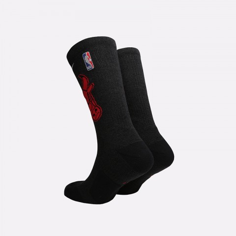 мужские чёрные  носки nike elite crew SK0162-010 - цена, описание, фото 2