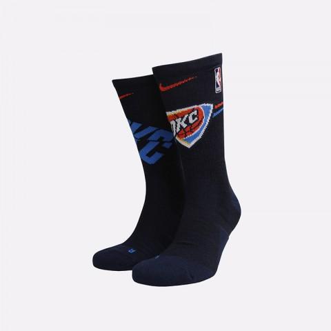 мужские синие  носки nike elite crew SK0178-419 - цена, описание, фото 1
