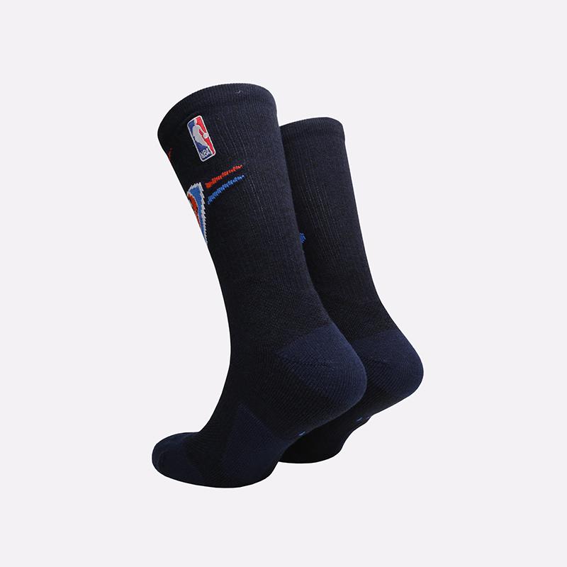 мужские синие  носки nike elite crew SK0178-419 - цена, описание, фото 2