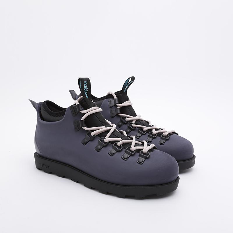 серые  ботинки native fitzsimmons citylite 31106800-1132 - цена, описание, фото 1