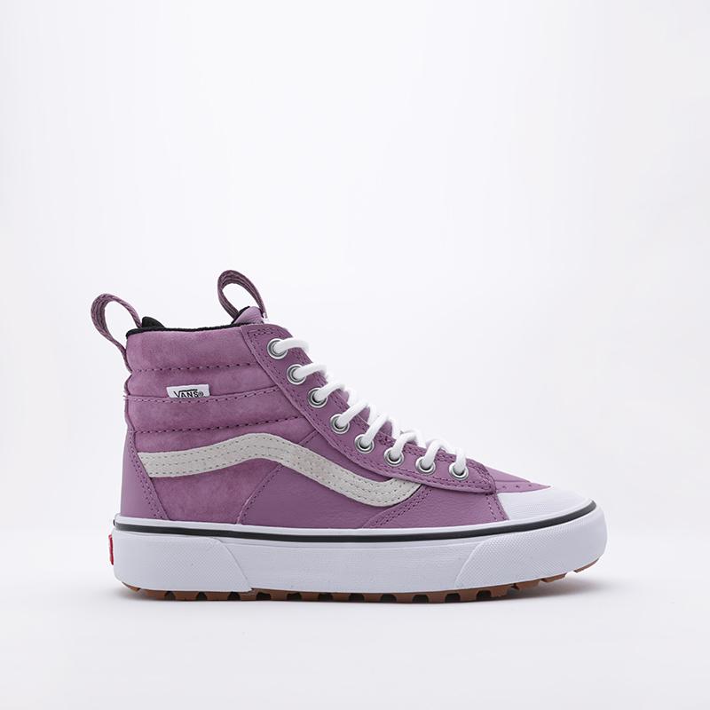 фиолетовые  кроссовки vans sk8-hi mte 2.0 dx VA4P3ITUKM - цена, описание, фото 2