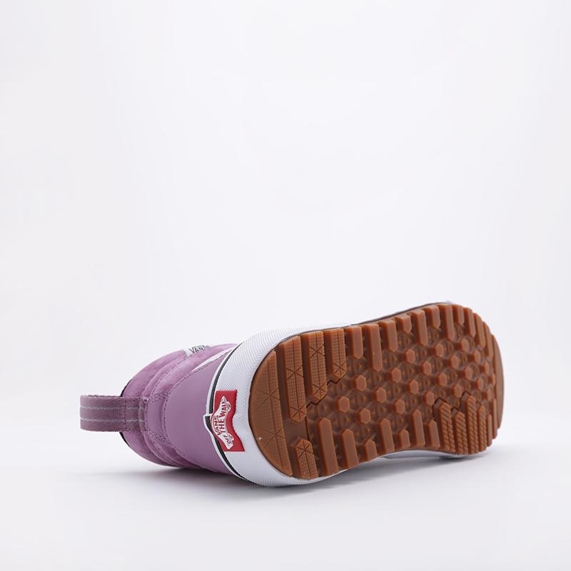 фиолетовые  кроссовки vans sk8-hi mte 2.0 dx VA4P3ITUKM - цена, описание, фото 4