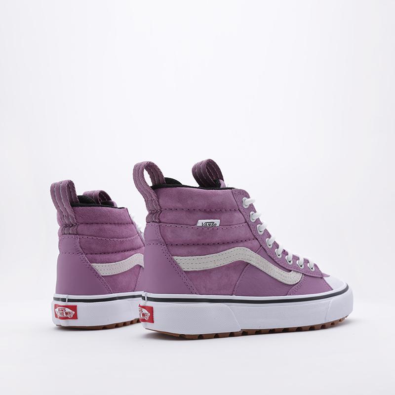 фиолетовые  кроссовки vans sk8-hi mte 2.0 dx VA4P3ITUKM - цена, описание, фото 3
