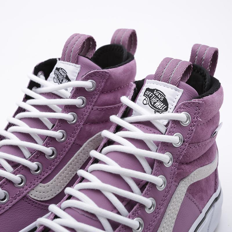 фиолетовые  кроссовки vans sk8-hi mte 2.0 dx VA4P3ITUKM - цена, описание, фото 6