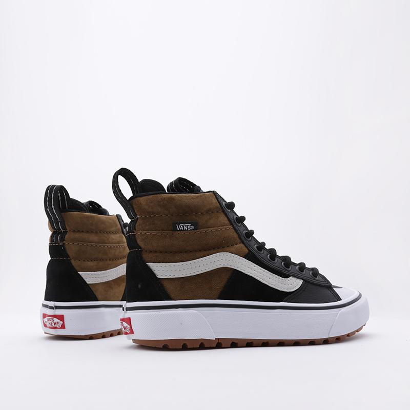 коричневые  кроссовки vans sk8-hi mte 2.0 dx VA4P3ITUHM - цена, описание, фото 2