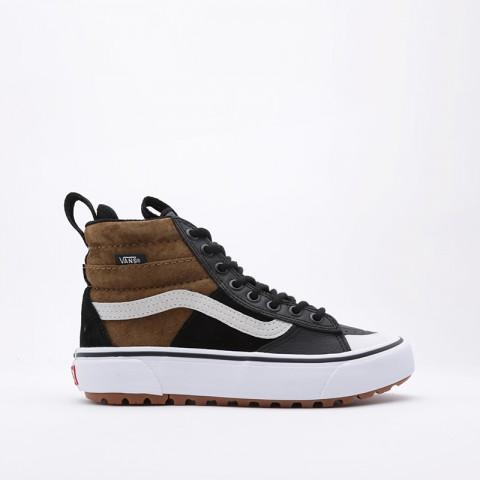 коричневые  кроссовки vans sk8-hi mte 2.0 dx VA4P3ITUHM - цена, описание, фото 3