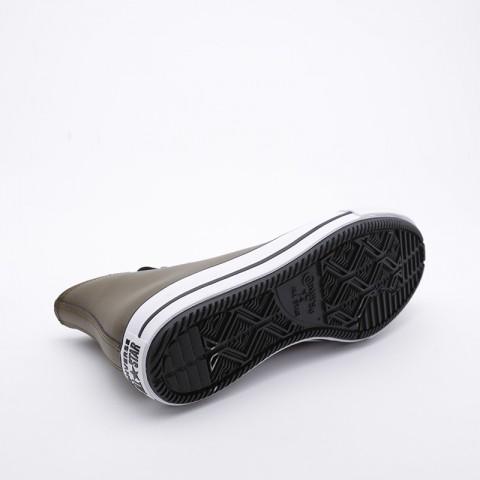 зелёные  кроссовки converse ctas winter hi 164925 - цена, описание, фото 4