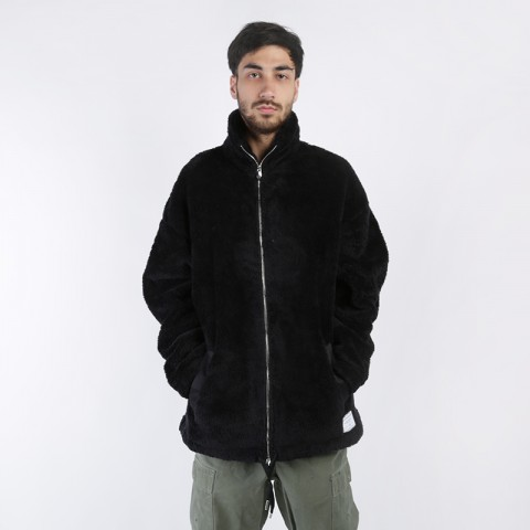 Толстовка Jordan Black Cat Sherpa Coaches' Jacket
