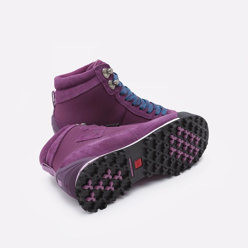 женские фиолетовые  ботинки the north face back-to-berkeley boot ii T0A1MFH66 - цена, описание, фото 2