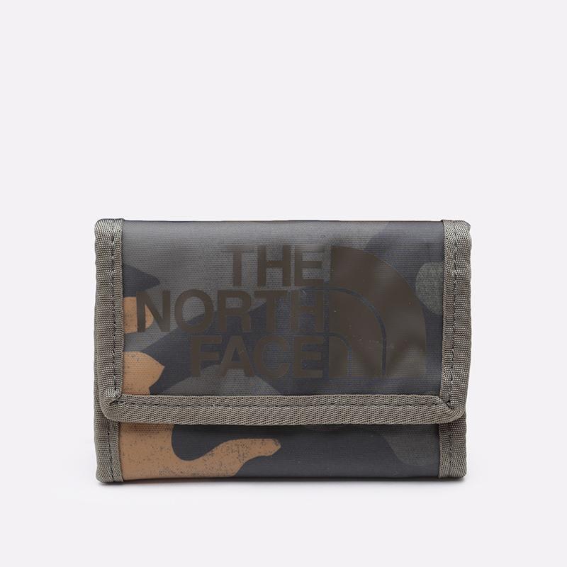 камуфляж  бумажник the north face base camp wallet T0CE69G2G - цена, описание, фото 1