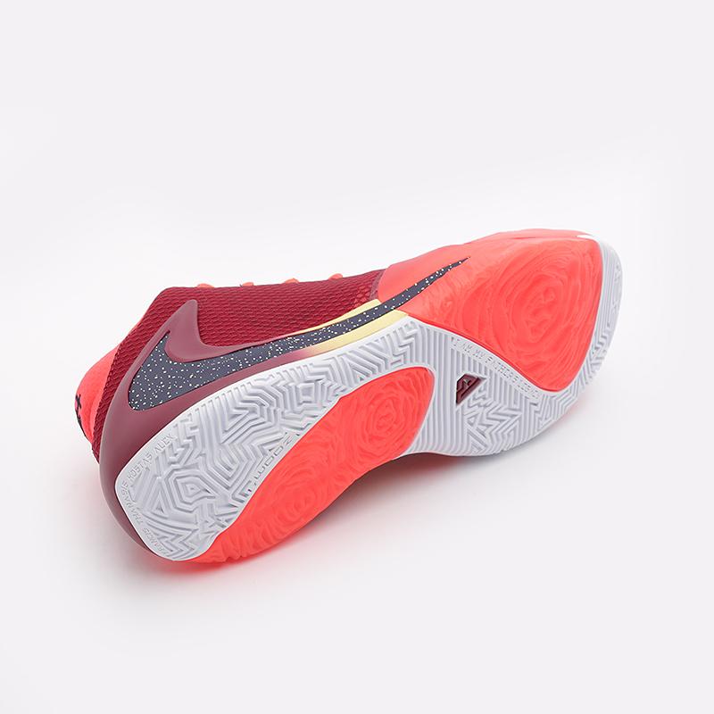 Кроссовки Nike, Zoom Freak 1, Бордовый
