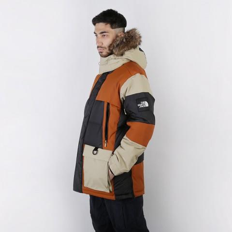 мужскую коричневую, бежевую, чёрную  куртку the north face vostok parka T93L2IUBT - цена, описание, фото 2