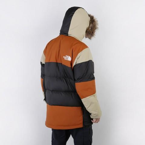 мужскую коричневую, бежевую, чёрную  куртку the north face vostok parka T93L2IUBT - цена, описание, фото 3