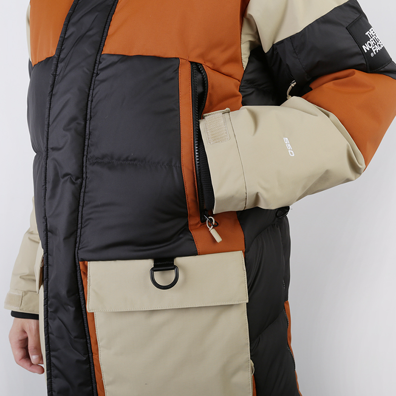 мужскую коричневую, бежевую, чёрную  куртку the north face vostok parka T93L2IUBT - цена, описание, фото 5