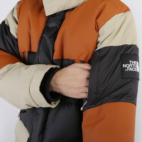 мужскую коричневую, бежевую, чёрную  куртку the north face vostok parka T93L2IUBT - цена, описание, фото 4