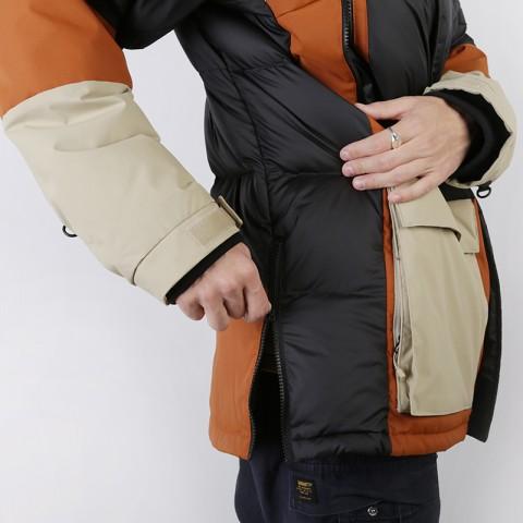 мужскую коричневую, бежевую, чёрную  куртку the north face vostok parka T93L2IUBT - цена, описание, фото 6