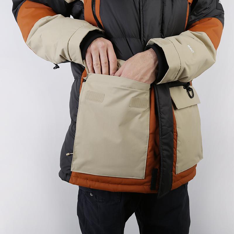 мужскую коричневую, бежевую, чёрную  куртку the north face vostok parka T93L2IUBT - цена, описание, фото 7