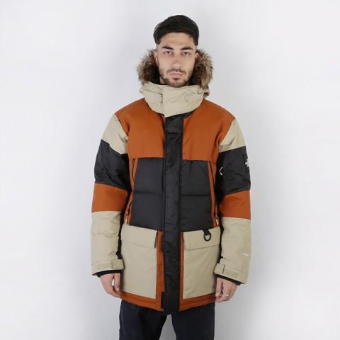 мужскую коричневую, бежевую, чёрную  куртку the north face vostok parka T93L2IUBT - цена, описание, фото 1