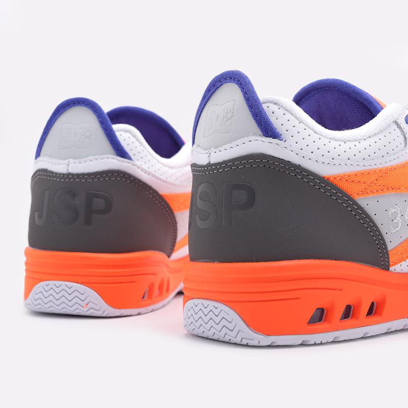 мужские белые  кроссовки dc shoes kalis og x jsp ADYS100583 - цена, описание, фото 7