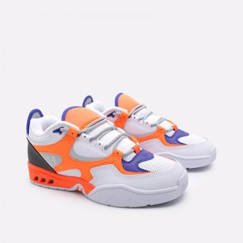 мужские белые  кроссовки dc shoes kalis og x jsp ADYS100583 - цена, описание, фото 3